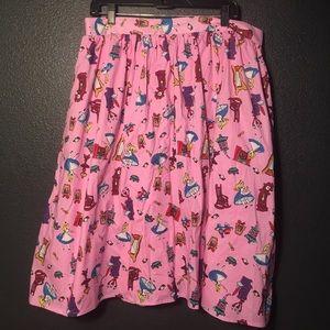 💙 Alice in Wonderland Skirt with Pockets 💙